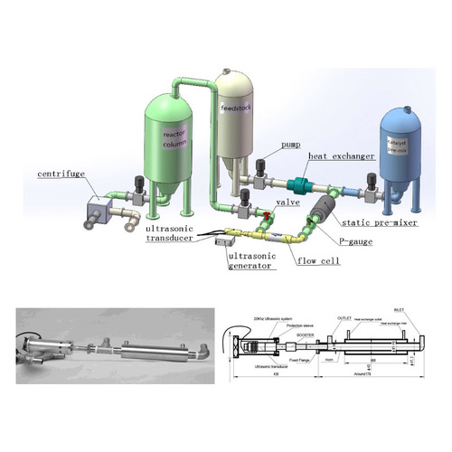 K-NanoSonic® KNS P series,Ultrasonic Biodiesel Process Equipment Pipe Cavitation